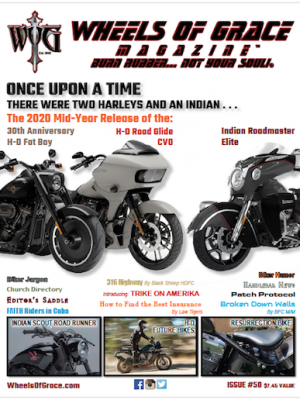 Wheels of Grace Magazine Issue 50