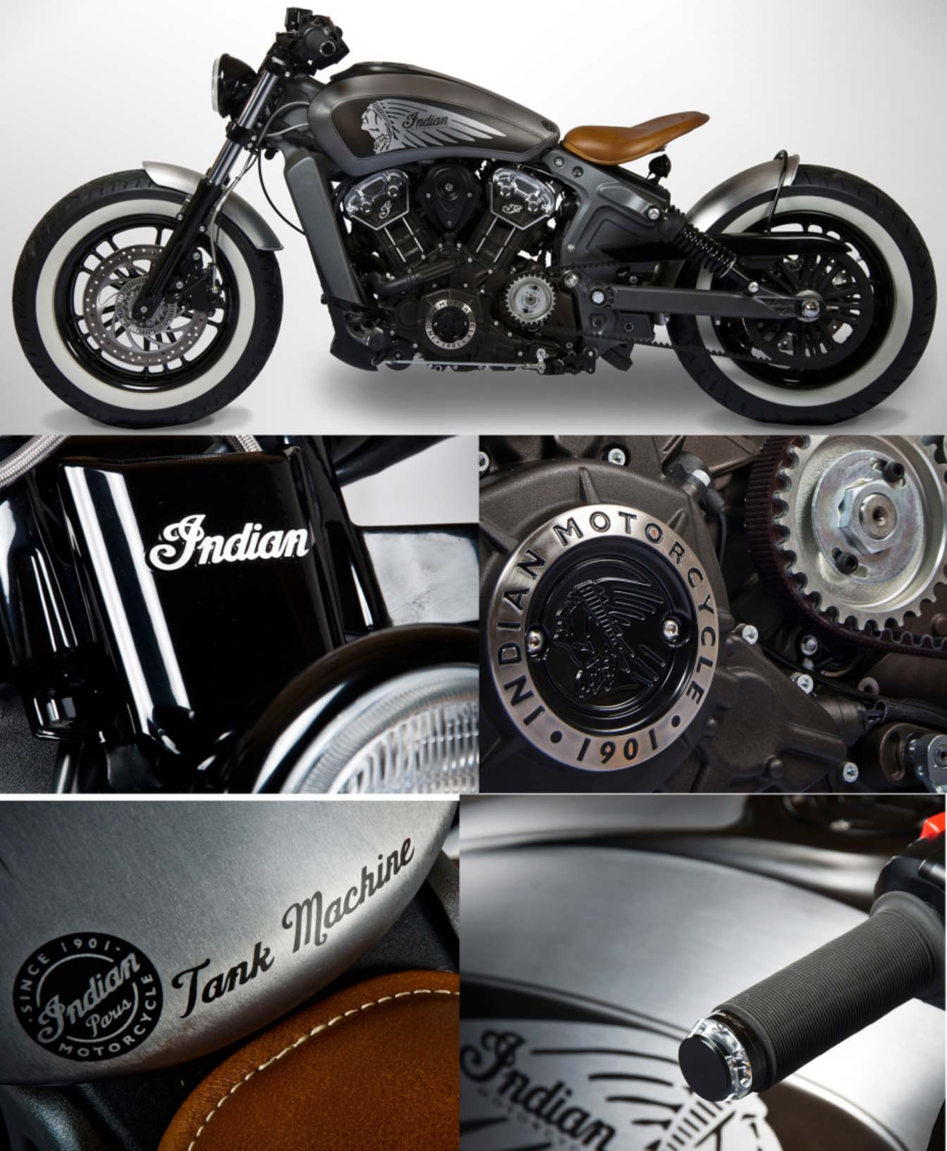 INDIAN SCOUT TANK MACHINE Pix