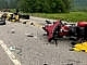Truck driver charged with causing the deaths of seven motorcyclists in New Hampshire no longer accused of crossing lane